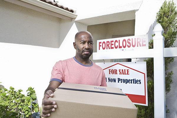 divorce and foreclosure